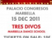 more about tres divos at the palacio congresos in marbella