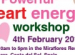 more about powerful heart energy workshop