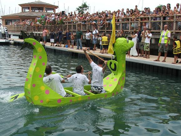 Gibraltar Cardboard Boat Race 2010