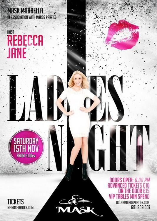 Ladies-Night-Facebook-Flyer