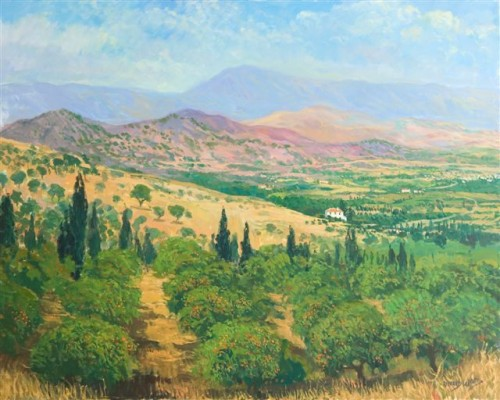 Orange Groves - Richard Wood