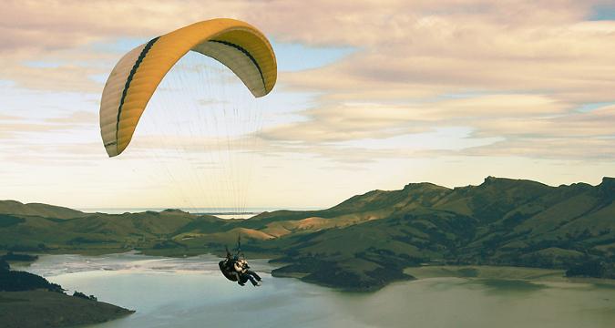 Paragliding spain