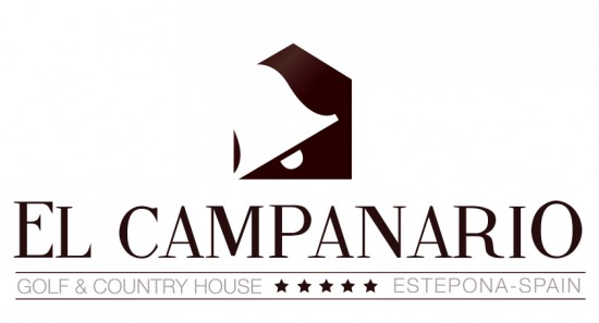 final logo el campanario_brown
